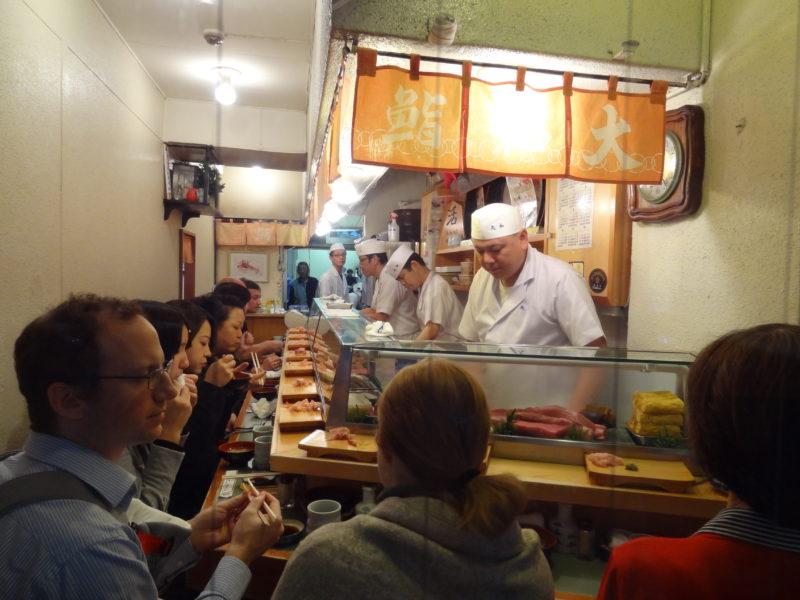 sushii restaurant tsjuki fish market tokyo anthony bourdain no reservations