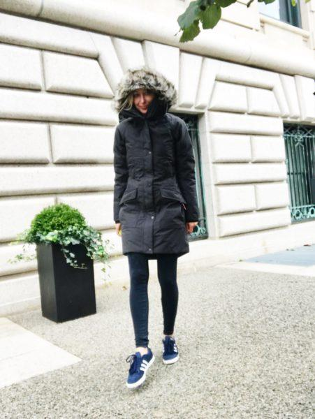cute hooded parka iceland travel europe nyc best slim fitted chic