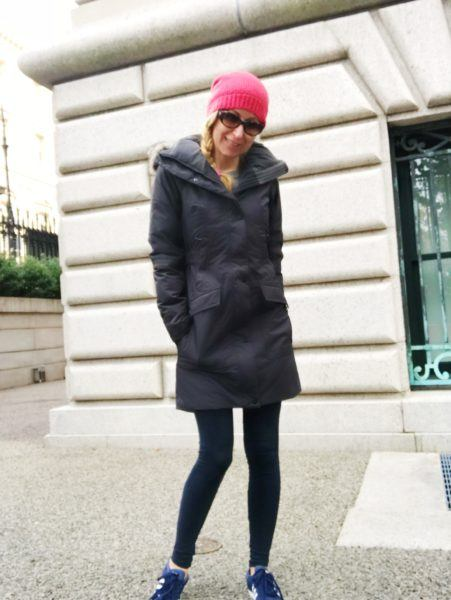 what parka coat pack iceland europe winter slim cute stylish women