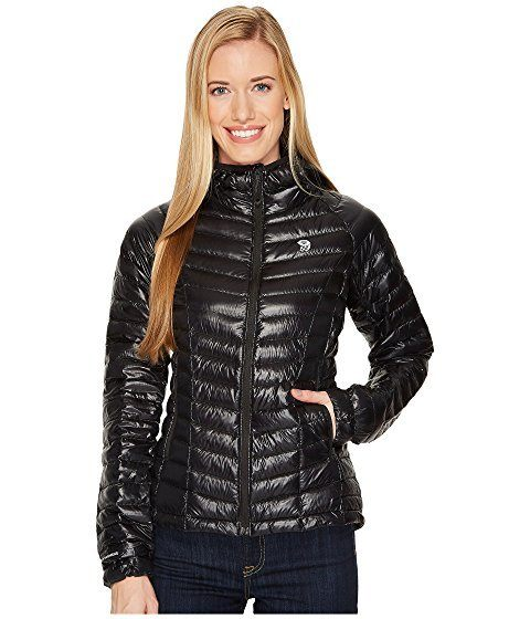 Mountain Hardware Ghost Whisperer chic puffer jacket for winter-- warm and slim.