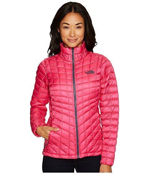 women's slender puffy coat, pink