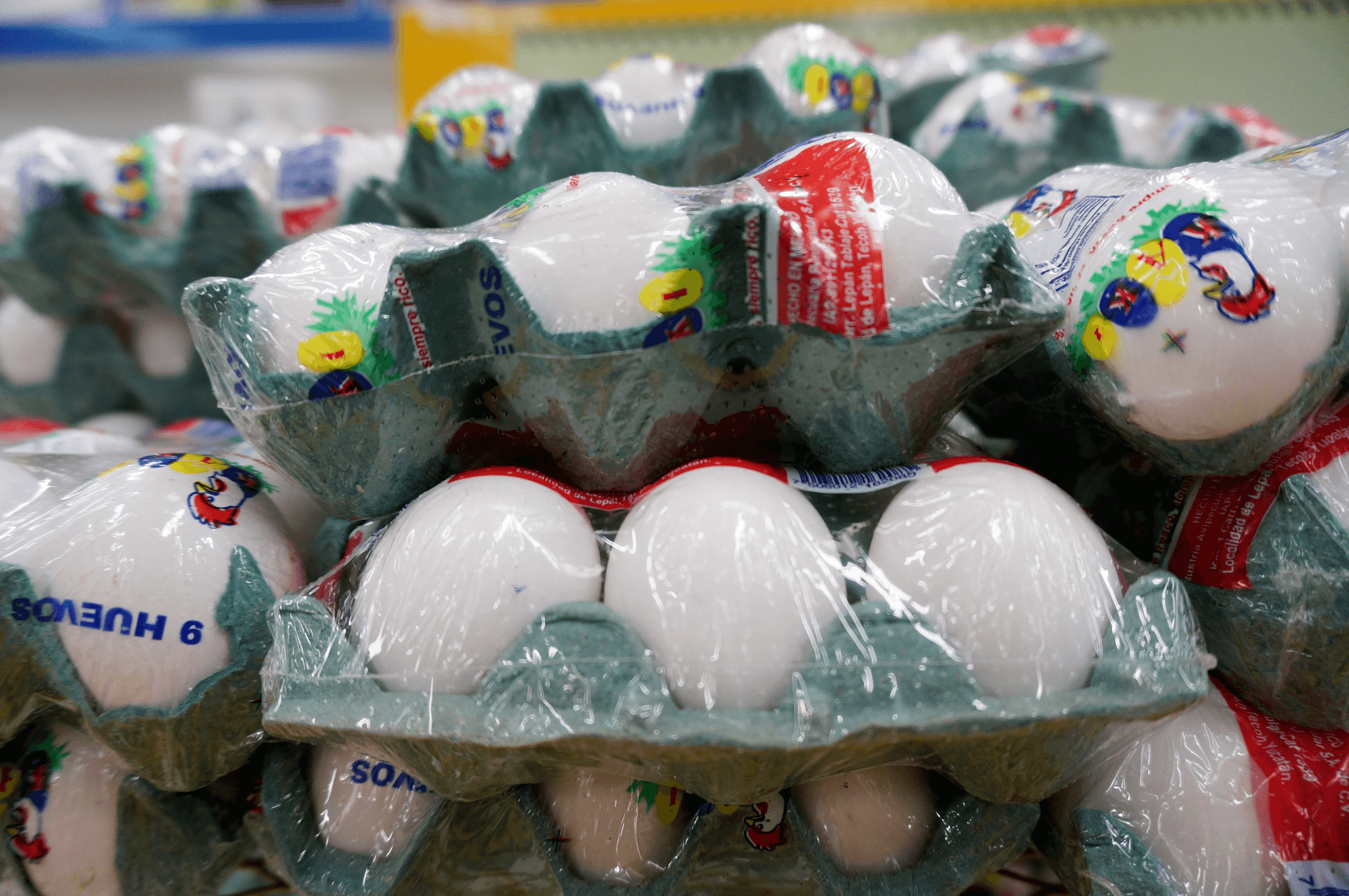 mexican eggs not refrigerated