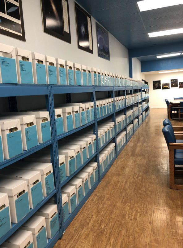 research room ufo museum roswell texas