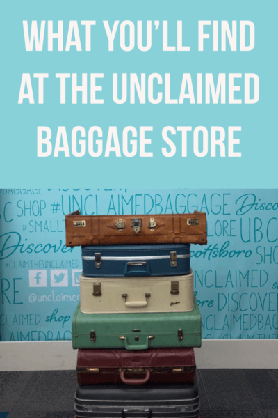 Unclaimed Baggage Store in Alabama-- a photo tour of what you'll find