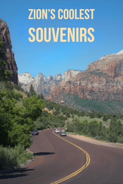 Shopping Zion National Park for souvenirs