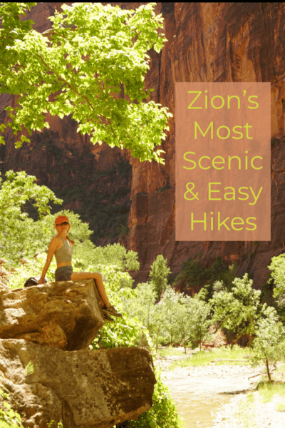 Zion's most scenic but easy hikes for beginners