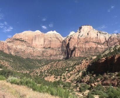 Zion National Park scenic drive photos