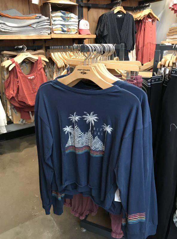 best surf shops t shirts los angeles santa monica venice rip curl