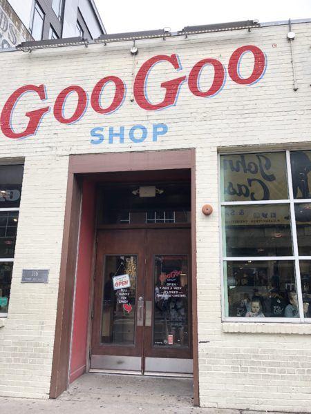 goo goo shop front nashville tn clusters photo