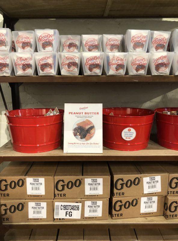 goo goo cluster souvenirs gift boxes nashvllle