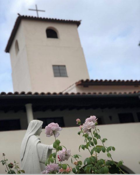 monastery of angels los angeles visiting photos