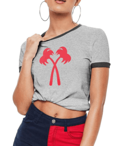 best la souvenirs in and out tee shirt
