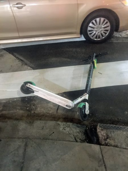 rental scooters nyc  and los angeles inferior dangeous lime