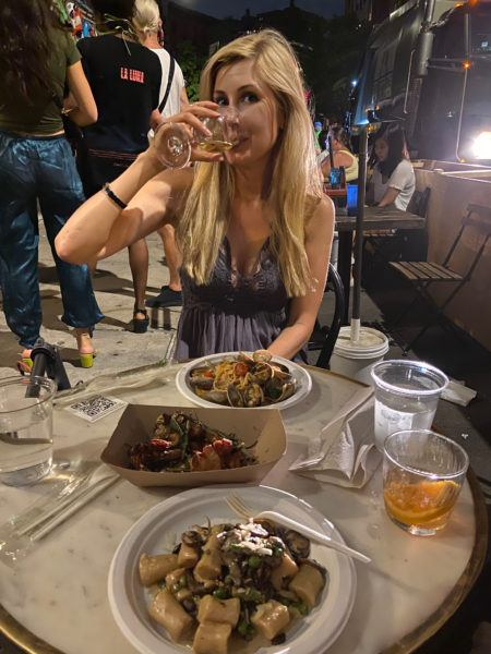 best Outdoor dining lower east side italian restaurant